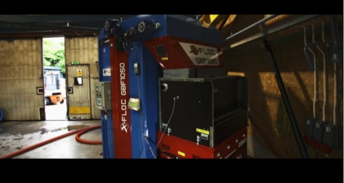 Video: X-Floc install insulation blowing machine