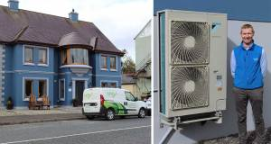 Heat pump upgrade warms Donegal B&B