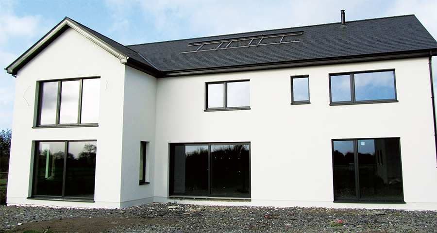 Laois self-builder goes hands-on to hit passive