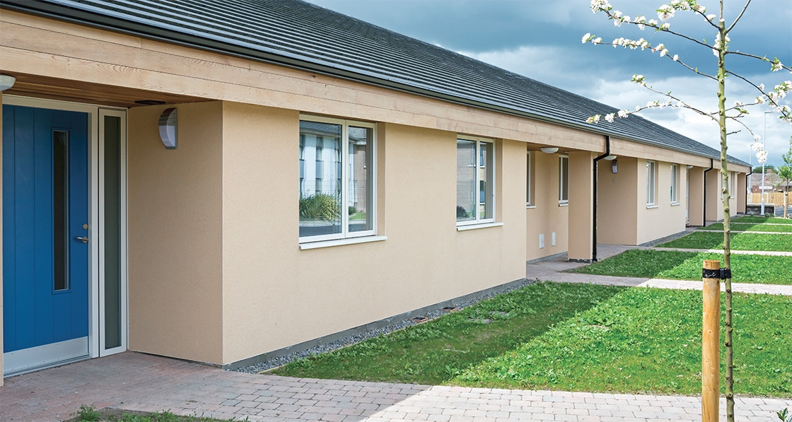 North Dublin sheltered housing provides passive care