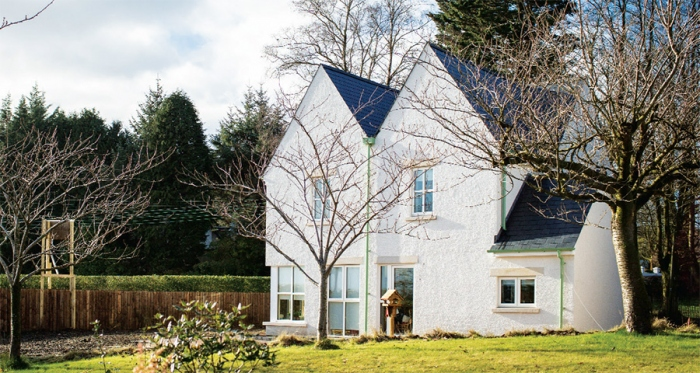 Artfully crafted Tyrone passive house