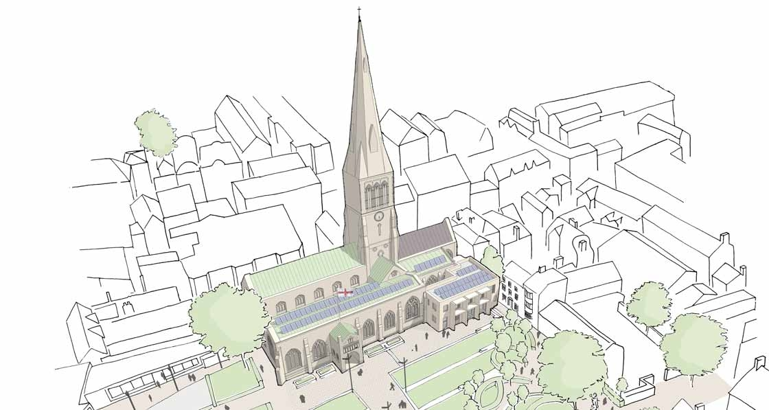 Leicester cathedral to get passive extension