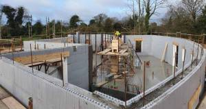 ICF fast & reliable for social housing — Amvic Ireland