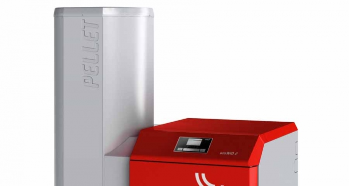 The BioWin 2 pellet boiler is to be launched at Ecobuild