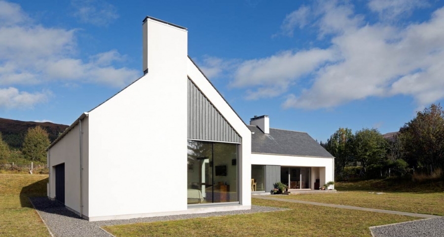 Simple And Stunning Highlands Passive House Merges Old And