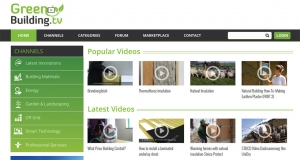 New online green building video platform launches