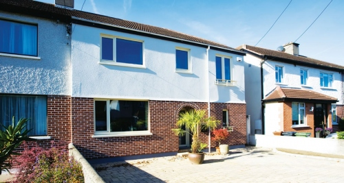 Monkstown semi-D sets deep retrofit example
