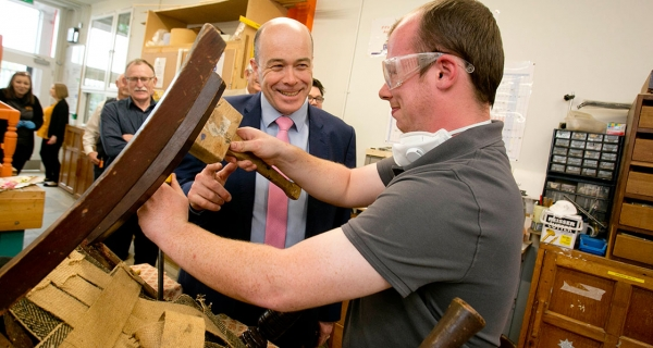 '3D textbook building' opens in Ballymun