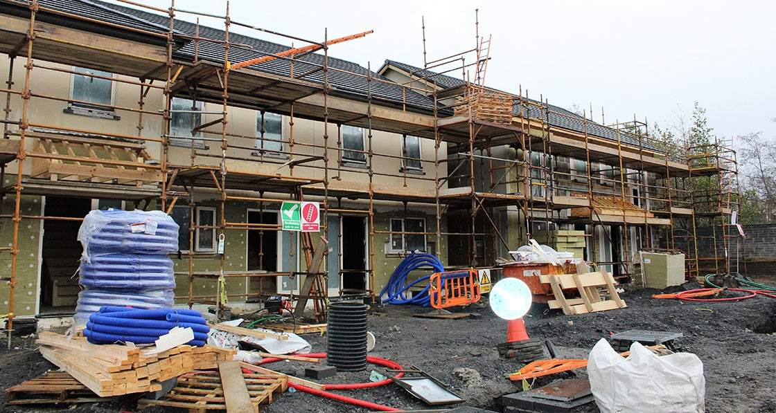 Ireland's largest passive scheme achieves world-leading airtightness