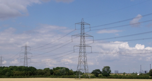 Retrofit buildings instead of building pylons?