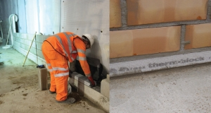 Marmox Thermoblock features in high profile Leicester Square retrofit
