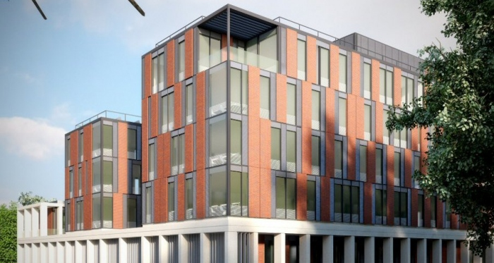 Leicester med school to be UK's largest non domestic passive building