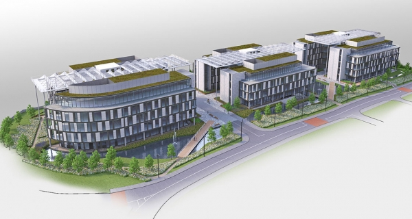 Major office scheme passes DLR's passive house or equivalent policy