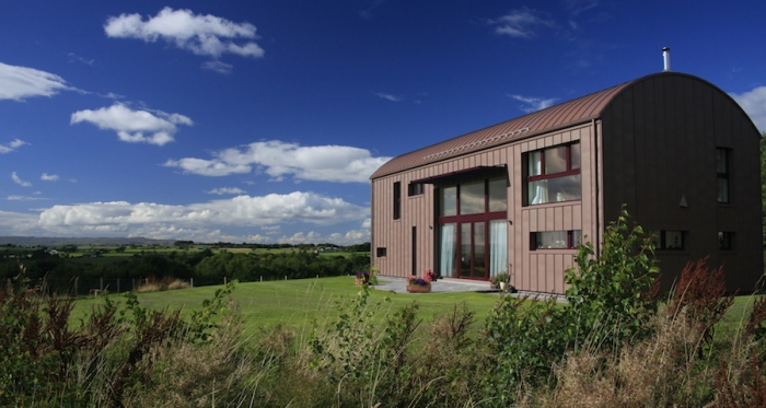 Passive house in Ayrshire by Kirsty Maguire Architects, nominated in the bespoke projects category