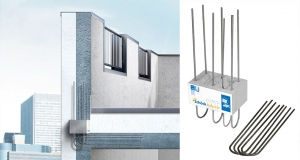 Schöck offers low thermal bridging alternative to wrapped parapets
