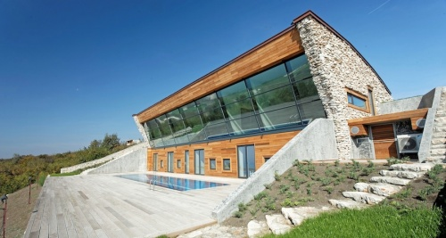 A passive house inspired by the sun
