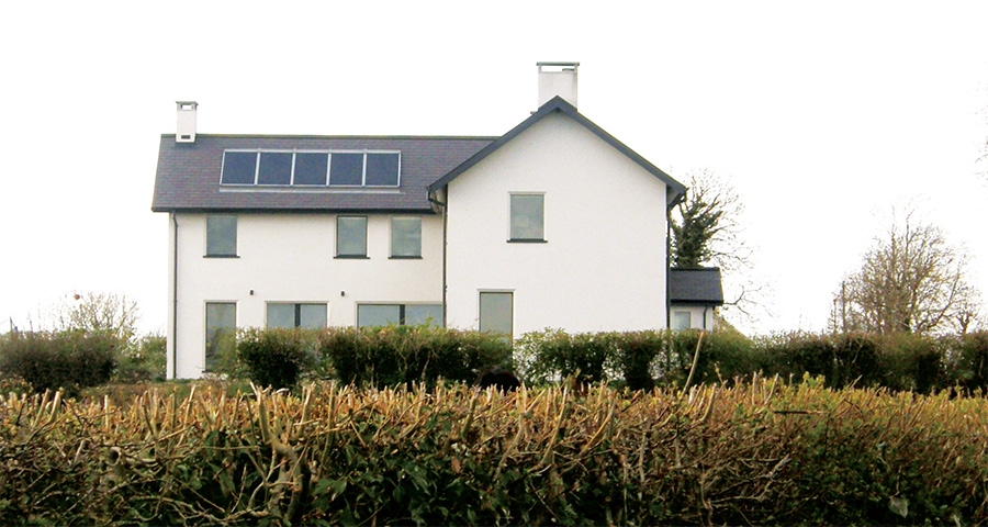 Ireland's 1st hemp-built passive house