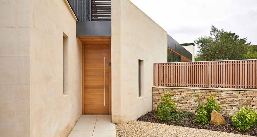 Stunning Bath home features Urban Front oak doors