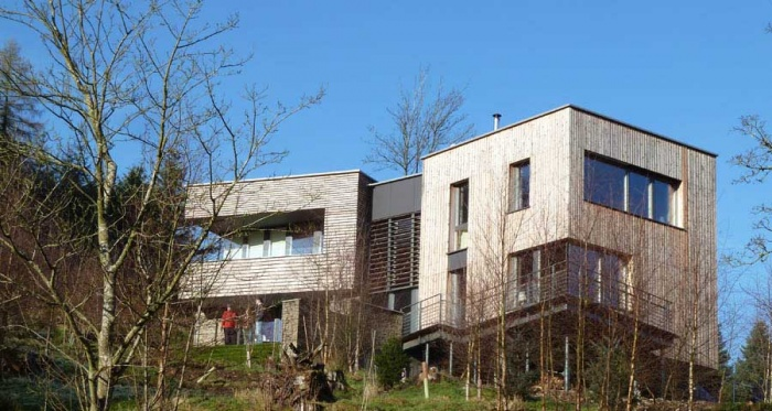 Plummerswood, a Gaia Group designed certified passive house in the Scottish Borders will feature in depth in our first UK edition