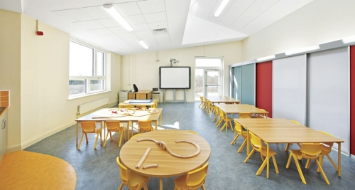 Passive house school in Moynalty, Meath, Ireland