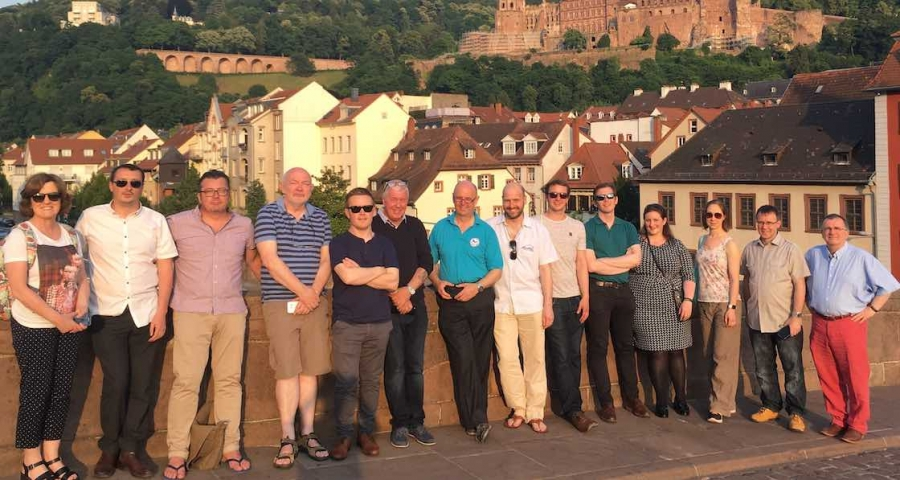 Participants on the Germany Irish Chamber of Commerce energy efficiency study tour