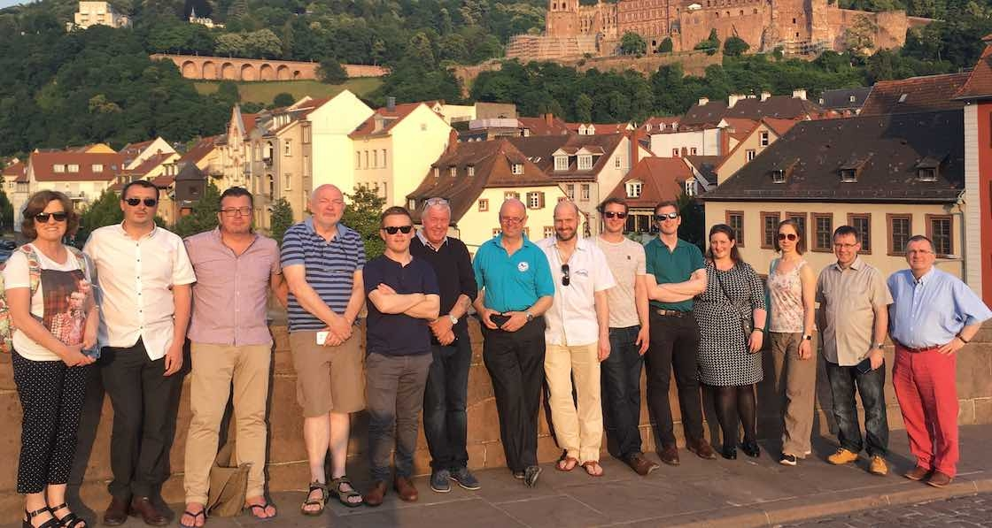 Irish study group visits germany on energy efficiency tour - Passive houses in germany energy and financial efficiency ...