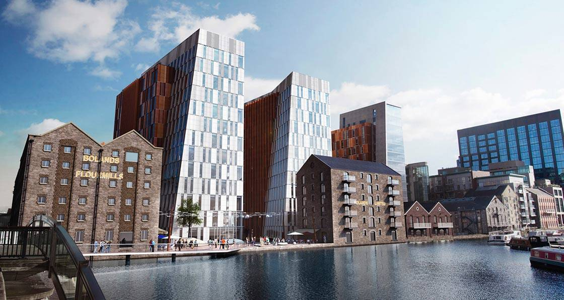 NIBE heat pumps chosen for Bolands Quay development
