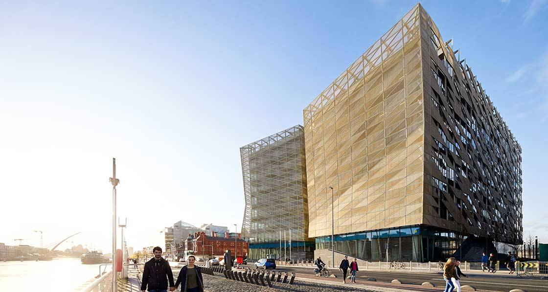 Ireland's new central bank hits nZEB & BREEAM outstanding eco rating