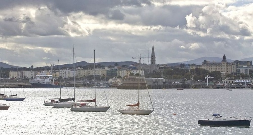 The waterfront at Dún Laoghaire, in south Dublin