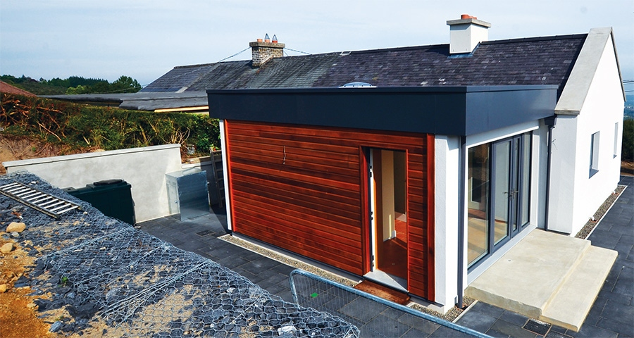 Dublin hillside rebuild tackles low energy in stages