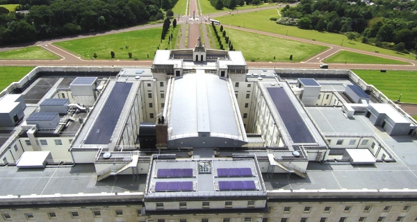 Kingspan's Stormont solar array meets unique challenges