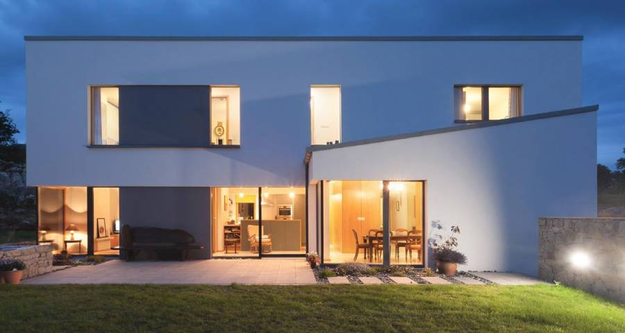 The Galway Passive House Inspired By A Water Tower