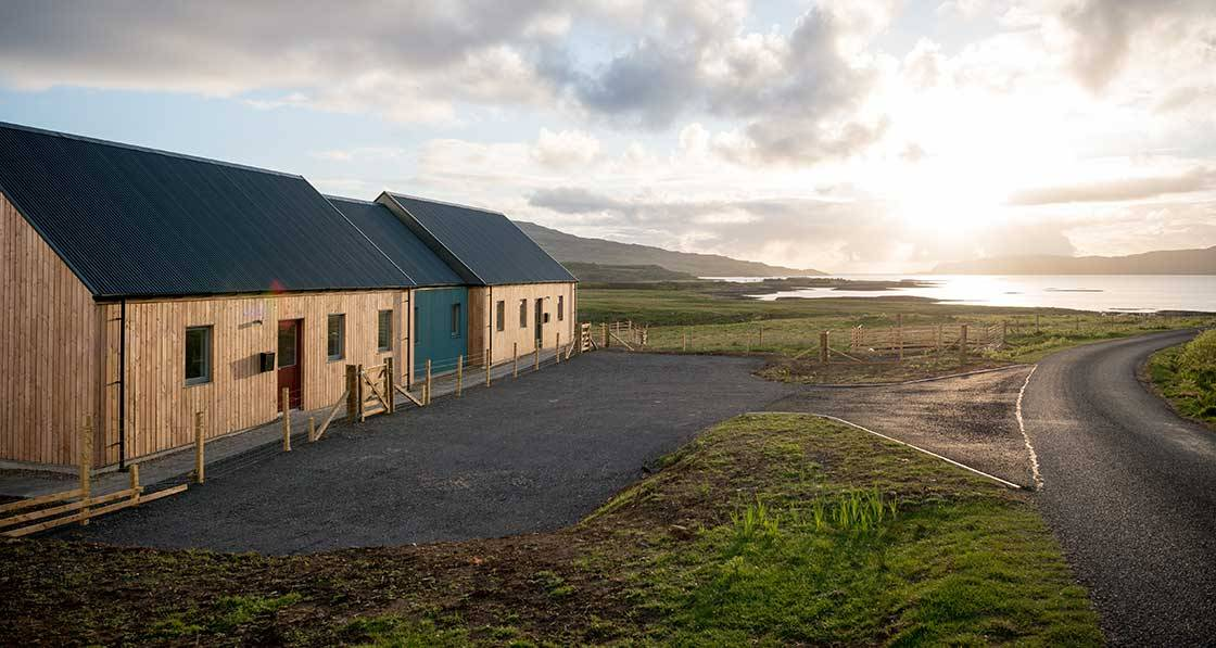 Scottish isle eco cottages need no central heating