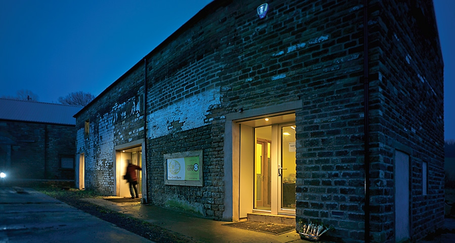 19th century barn gets 21st century fabric upgrade