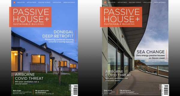 New issue of Passive House Plus free to read