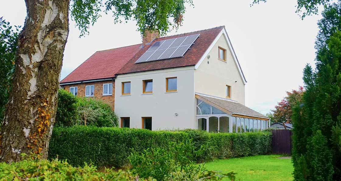Cheshire semi gets passive retrofit for £60k