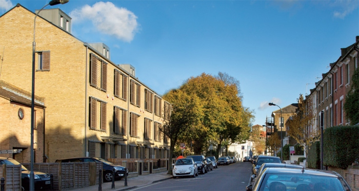 Mixed use London scheme delivers passive at scale