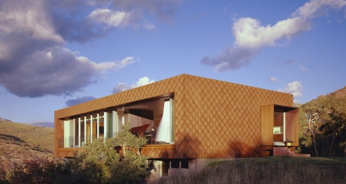 LEED silver home graces Utah canyon