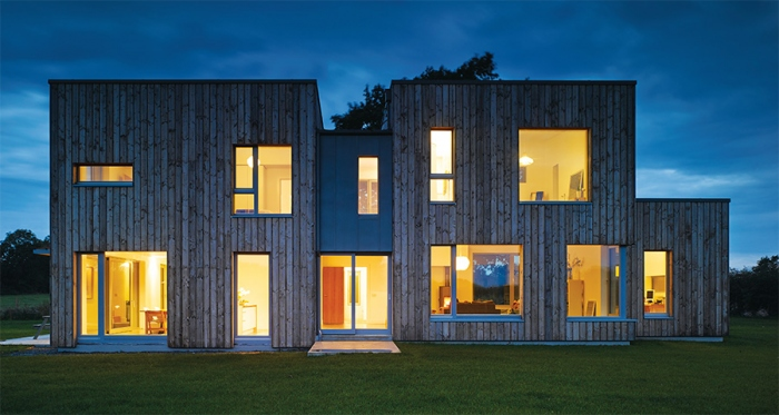 Passive architect walks walk with Carlow home