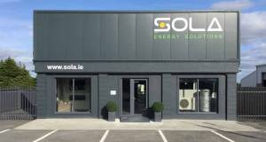 Sola open new NZEB showroom