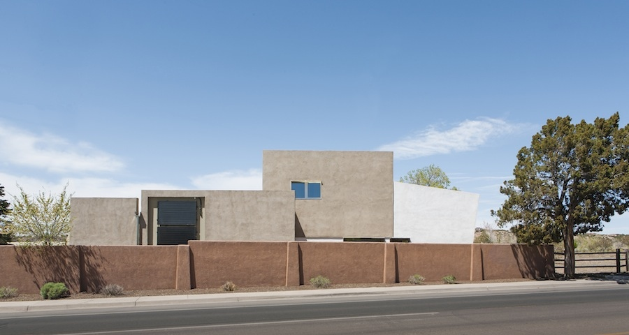 Passive house in New Mexico cheaper than conventional build