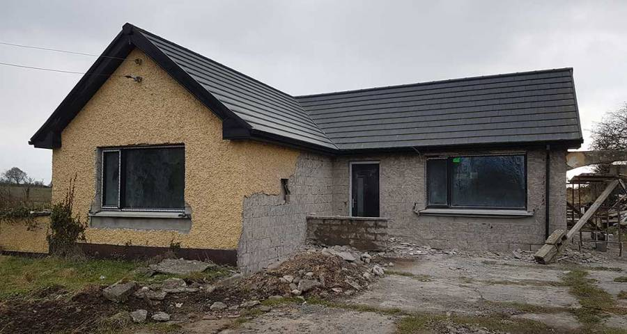 G-rated Meath bungalow aims for A rating — without renewables