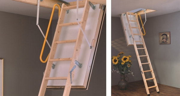 Reavey launches new airtight folding stairs