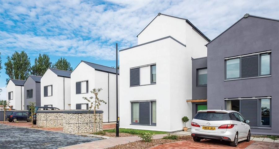 28 unit passive house scheme completed on Isle of Wight