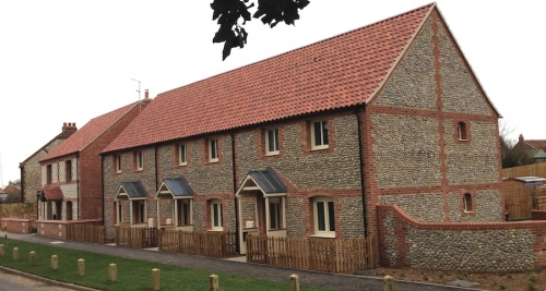 The Burnham Overy Staithe development, by Parsons & Whittley