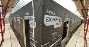Partel fire-rated membrane contributes to new hospital extensions