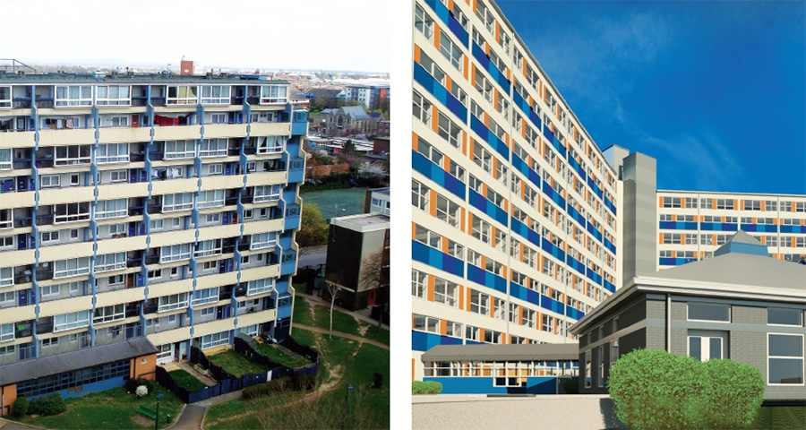 How to save social housing blocks