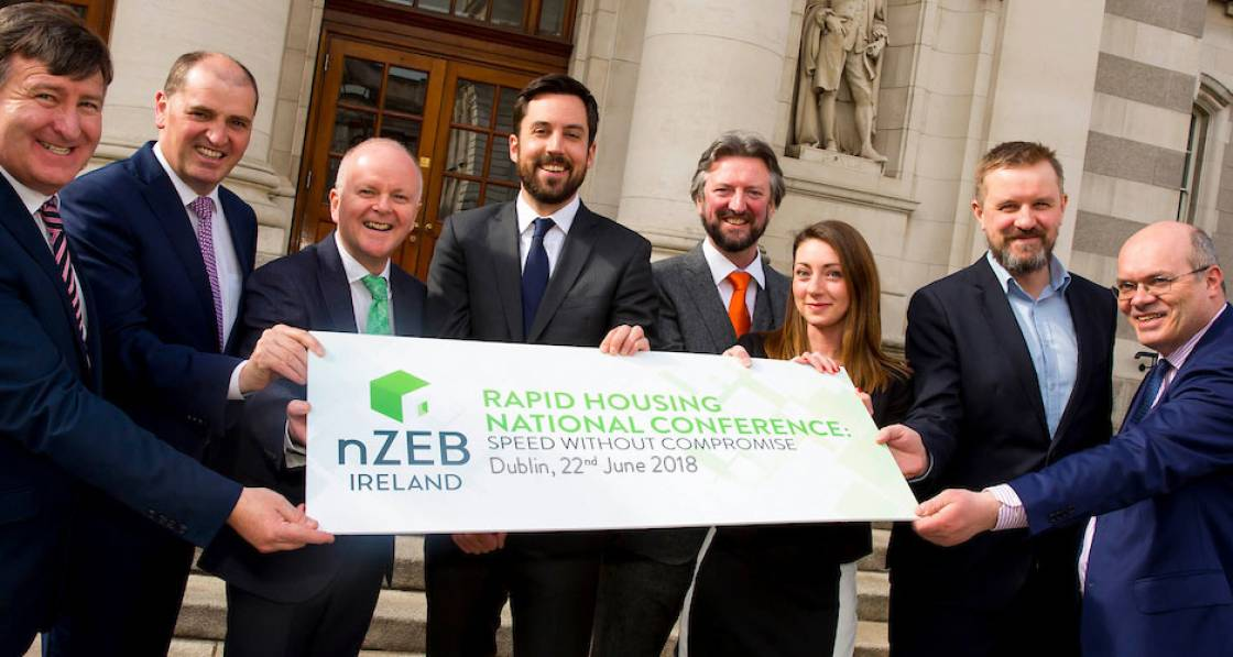Dublin to host conference on rapid-build nZEB construction