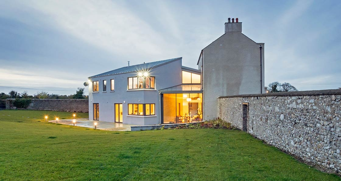 18th century ruin becomes stylish low-energy home
