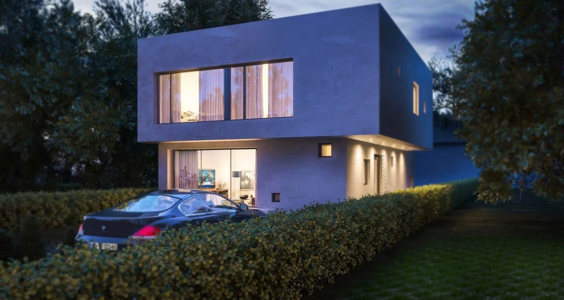 Striking low-energy mews house on-site in Clontarf